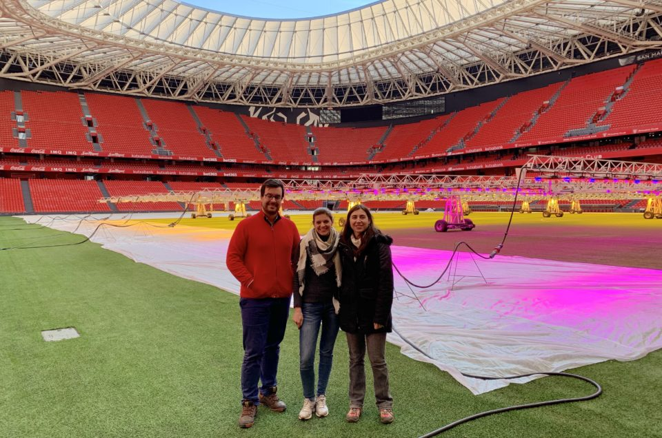 INTERACT researchers help company with stadium lighting installation